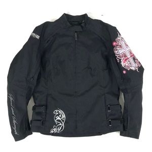 Speed and Strength Black Armored MotorcycleJacket